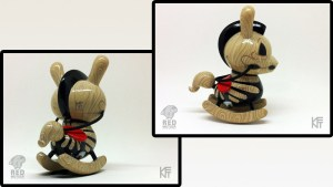 "Igor Ventura's The Death of Innocence 3"" Custom Dunny, 2014"