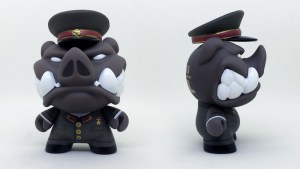 Igor Ventura's Wild Ones Dunny: Napoleon from Animal Farm