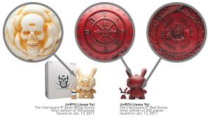 "J*RYU's Arcane Divination: 8"" The Clairvoyant Dunny from Kidrobot"