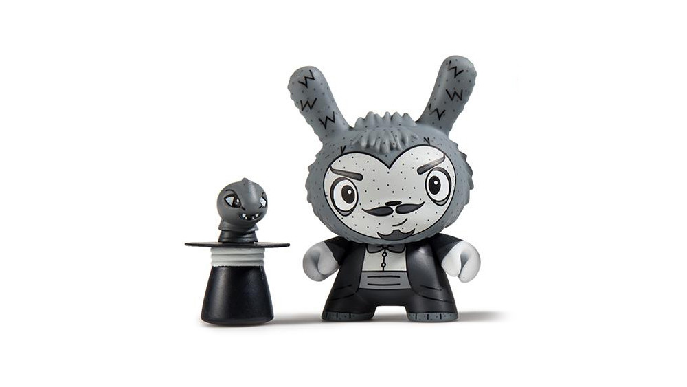 The Bots' Scared Silly Dunny Series from Kidrobot, The Amazing Alumit, 2017