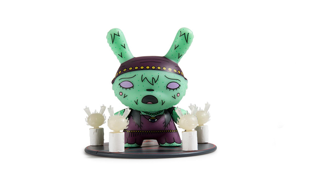 The Bots' Scared Silly Dunny Series from Kidrobot, Lady Fox, 2017