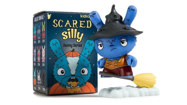 The Bots' Scared Silly Dunny Series from Kidrobot, Which Witch is Which (variant & case exclusive), 2017