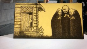 John Kenn Mortensen's Three Witches Header Card