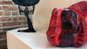 Josh Mayhem Solo Show - Blown Away - Flesh Wound (Custom Luke Chueh Dissected Bearhead)