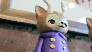 Kaori Hinata's Morris — The Cat with Antlers (Pione Purple Coat)