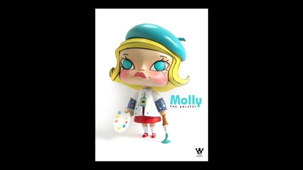 Kennyswork & InstincToy's Erosion Molly - Kenny Wong's Molly the Painter
