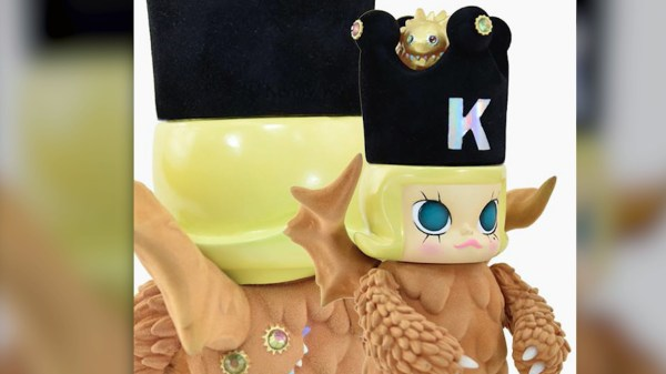 Kennyswork & InstincToy's Erosion Molly - Hiroto Ohkubo's Molly wearing a Monster Costume