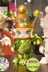 Kennyswork & InstincToy's Erosion Molly - Green Fairy Edition