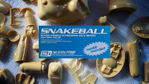 Maschinen Krieger ZbV3000 (Ma.K.) Snakeball garage kit from Silicon-Tribe, c. 2003