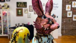 Klav / Kevin Derken's Creeping Death Rabbit Club (custom of Fxxking Rabbits & T9G / Takuji Honda's FxxKingrabbits)