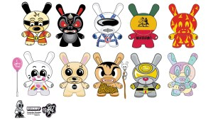 Kidrobot's Dunny Series 2 - Sket One's Design Vectors Submission circa 2004