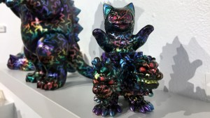 Konatsuya Exhibition - Black Seed's Amphetamine Negora & Mini Yu Shou Long