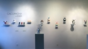 Kyle Kirwan's Cacophony - Exhibition overview