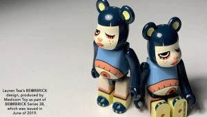 Lauren Tsai's BEARBRICK Series 38 Design, 2019