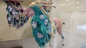 Lauren Tsai's Unreal Polystone Resin Sculpture from Medicom Toy
