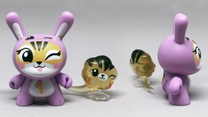 Linda Panda's Wildly Gassy Trio: Tiger Dunny from Kidrobot's Wild Ones