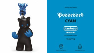 Luke Chueh's Possessed CMY — Cyan Edition from Munky King
