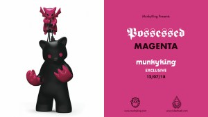 Luke Chueh's Possessed CMY — Magenta Edition from Munky King