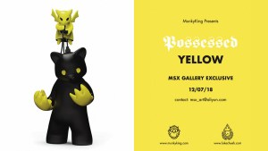 Luke Chueh's Possessed CMY — Yellow Edition from Munky King