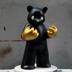 Luke Chueh's Blood On My Hands - Red Handed (Black & Gold Custom)