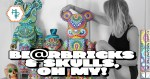 MP Gautheron's Custom Bearbricks & Skulls Feature