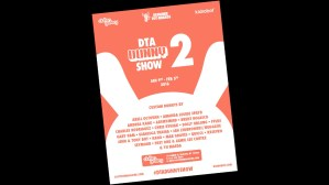 Clutter Gallery & Kidrobot's DTA Dunny Show 2 flyer