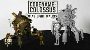 Michael Sng / Machination Studio's Codename: Colossus — M1A2 Light Walker