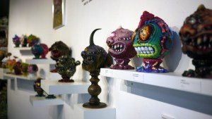 Madballs All-Star Art Jam and Exhibition - main wall overview
