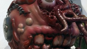 Madballs All-Star Art Jam and Exhibition - Miscreation Toys' Bot Head Miscreated