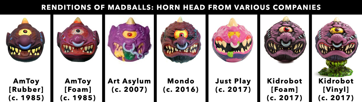 Madballs All-Star Art Jam and Exhibition - Various Renditions of Horn Head