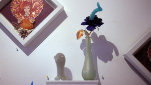 Mariangela Tan / plushPLAY's Bloom - Blue Moon Bioluminescent Tentacle Blossom & Lady Luna