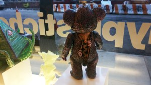 Monstrosities 2018 - IT Bear Purple by Milkboy Toys X Kenth Toy Works