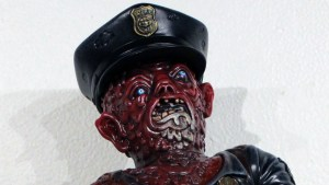 "Monstrosities 2018 - ""Raspberry Puree"" Mutant Cop by Nate the Milkman"
