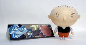 Chris Ware's James Corrigan: The Saddest Toy in the World vinyl figure from Presspop
