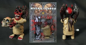 Pushead's Mecha Terror: Devilman wind-up figure