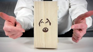 Oasim Karmieh's Louis C.K. Art Toy Wood Box