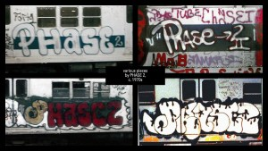 PHASE2's tag, circa the 1970s