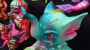 Paulkaiju @ DesignerCon - Boss Carrion 2.0 Pistachio