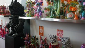Paul Kaiju's Ring of Fire - Shelf One & Two, Exhibition Overview