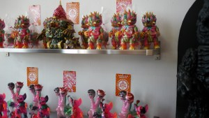 Paul Kaiju's Ring of Fire - Shelf Three & Four, Exhibition Overview
