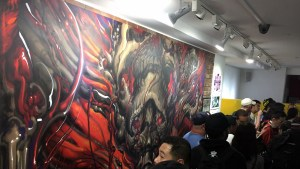 Lango painting at Hyperstoic Returns