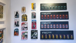 RYCA's Star Wars: 9 Holy Grails in a Row series at the Futuretro exhibition