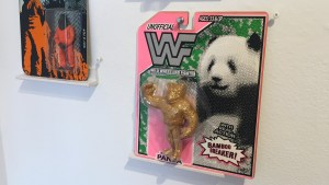 RYCA's WWF Panda at the Futuretro exhibition