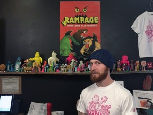 Jon Malmstedt and his work at Rampage Toys' Rampage Kudasai