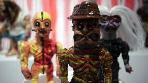 Violence Toy's Timegore - Feddy Gorger at Clutter Gallery's Vinylploitation exhibition