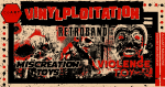 Retroband, Miscreation Toys & Violence Toy - Vinylploitation - Exhibition Report