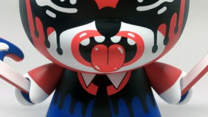 Roman Klonek's Zmirky Dunny (Red/Blue Retailer Edition) from Kidrobot