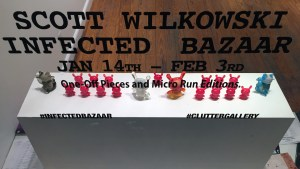 Scott Wilkowski's Infected Bazaar - Window display overview