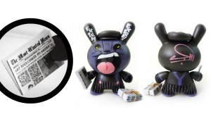 Most Wanted 3 Custom Dunny: Sergio Mancini's Paperboy