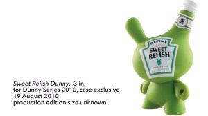 """Sket One Dunny - Sweet Relish 3"""" Dunny, Dunny Series 2010 case exclusive, 2010"""